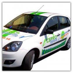 Publicité véhicule professionnels