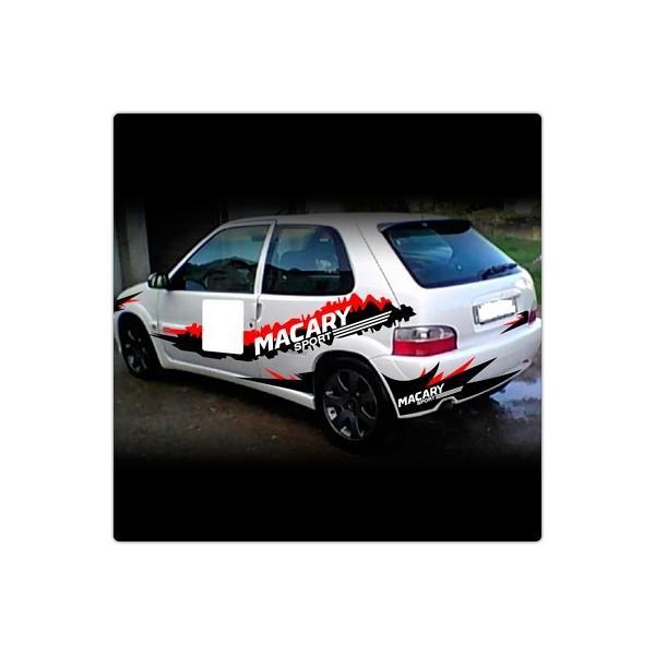 kit d 233 co rallye bandes adhesif auto