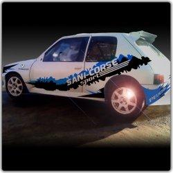 Kit déco rallye 205