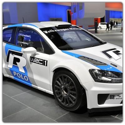 Décoration stickers Polo R WRC