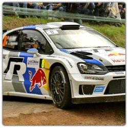 Décoration rallye Polo R WRC Ogier