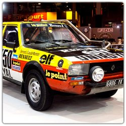 Kit de décoration Renault 20 Dakar 82 Marreau