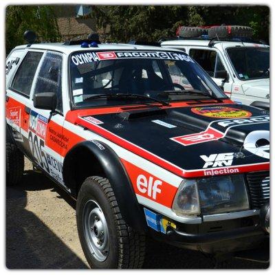 Kit de décoration Renault 18 proto 4x4 Dakar 83 84 85 Marreau