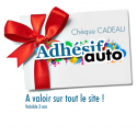 Chèques cadeaux décoration auto