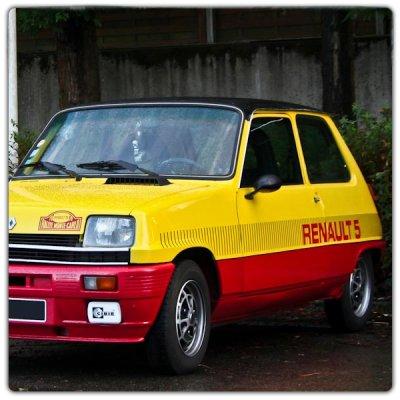 Set de décoration Renault 5 TS Monte Carlo