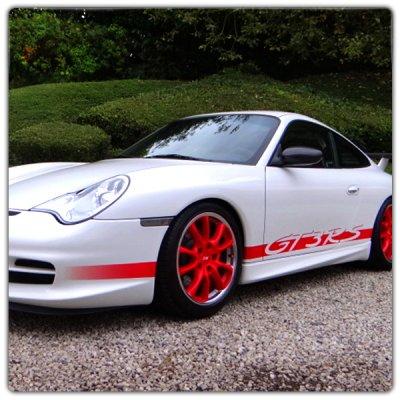 Kit de décoration GT3 RS Porsche avec dégradé