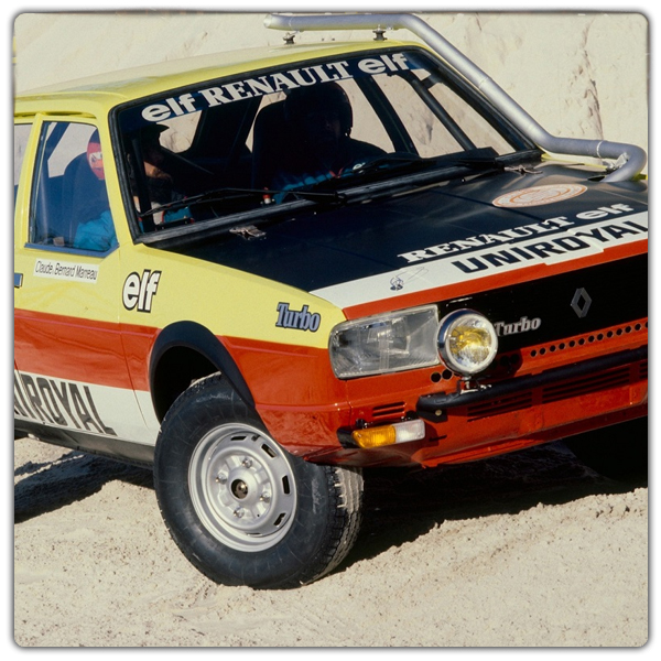 Renault 20 Turbo dakar 1981 freres marreau