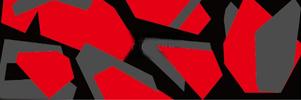 Camouflage militaire warp Red