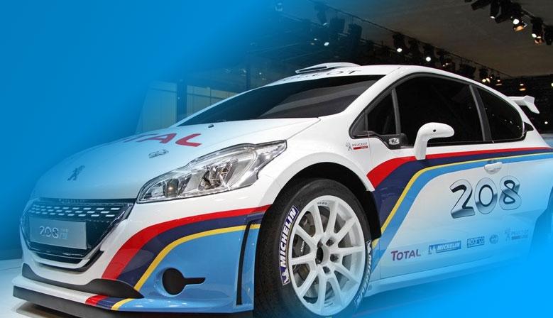 Décoration adhésive Peugeot 208 r5
