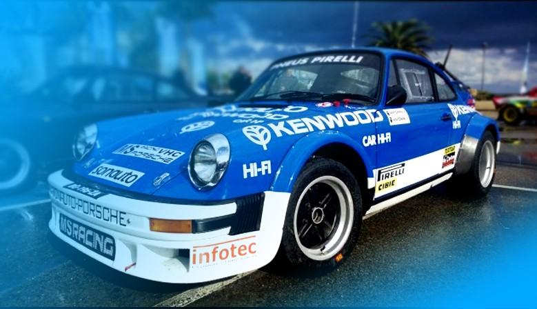 Décoration kenwood tour de corse 1982