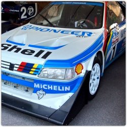 Peugeot 405 T16 decoration Picke's Peak