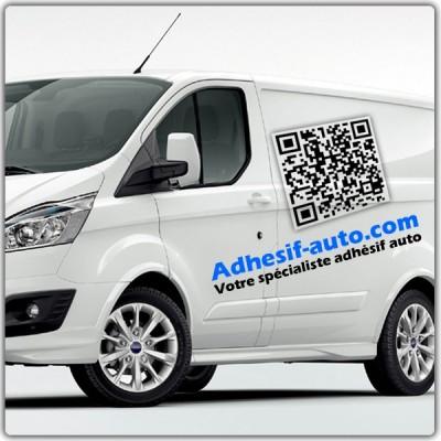 Publicité automobile QR code