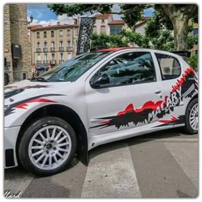 Kit déco rallye 206