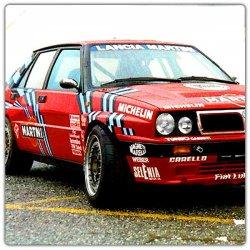 Décoration adhésive Lancia Delta Intégrale 1989