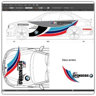 Décoration BMW spécial Maquettes
