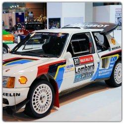 Adhésifs 205 rallye TURBO 16
