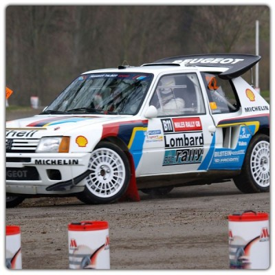 Stickers 205 TURBO 16 Rallye