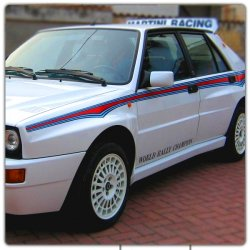 Décoration Lancia Delta Martini 6