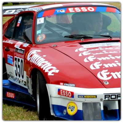 Kit de décoration Porsche 935 Alméras