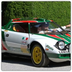 Kit décoration Lancia Stratos HF Alitalia