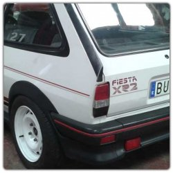 Sticker ford fiesta xr2 mk2