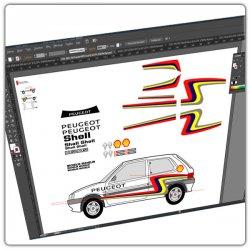 Maquettes 106 Rallye Panizzi