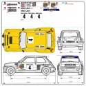 Kit de décoration adhésive RENAULT 5 Turbo Calberson