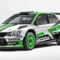 Set de décoration de la skoda fabia R5