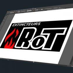 Sticker RoT extincteurs