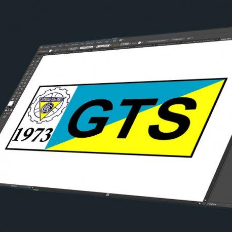 Sticker Automobile Club Ouest gts 1973