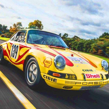 Porsche 911 tour de france 1970