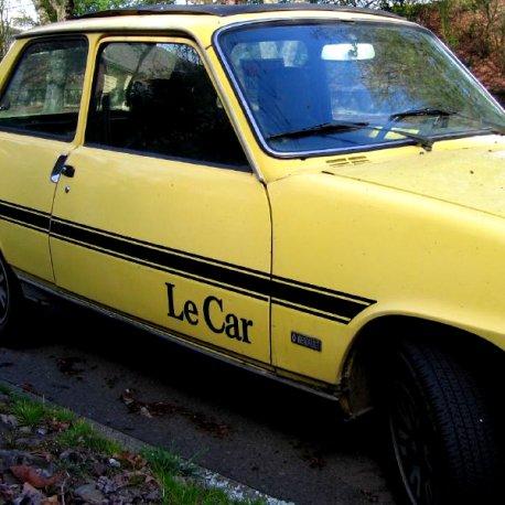 Kit décoration Renault 5 Le Car
