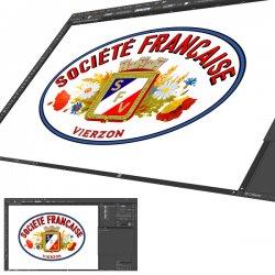 Sticker Société Française Vierzon
