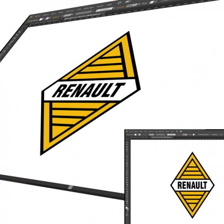 Sticker Renault 59 a 72