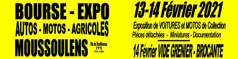 Bourse expo 13 et 14 fevrier a moussoulens
