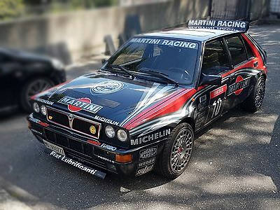 version carrosserie noire delta hf integrale martini