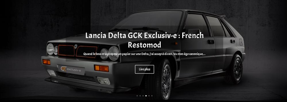 Lancia Delta GCK Exclusiv-e : French Restomod